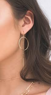 earrings all the way up two way drop earrings esah