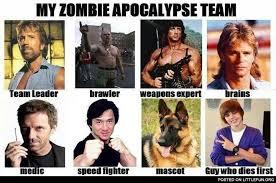 My Zombie Apocalypse Team Meme Creator - littlefun my zombie apocalypse team