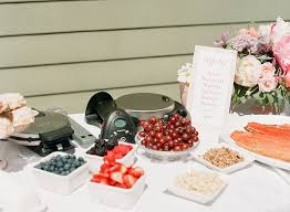 bridal brunch favors a girly pink backyard bridal shower by connie whitlock photography