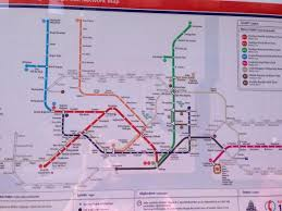 istanbul metro map map of the route of metro which is helpful to select the green