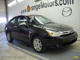 Focus 2008 2008 Ford Focus Se Coupe In Black 207364 Nysportscars Com