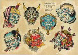 japanese masks flash by vincent penning fabulous