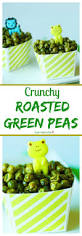 crunchy roasted green peas recipe