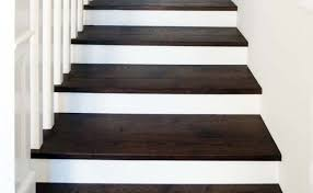 white riser stairs oak timber staircase