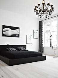 bedroom dazzling awesome monochrome chandelier black and white