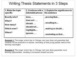example of a good thesis statement starting a research paper thesis