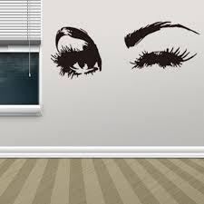 aliexpress com buy 1pc beautiful eyes wall sticker quotes