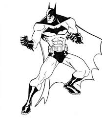 batman 02 printable coloring pages