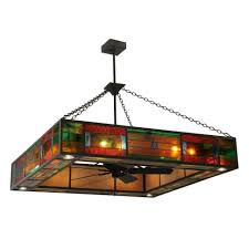 Stained Glass Ceiling Fan Light Shades Ceiling Fans Glow You With Bedroom Ceiling Light