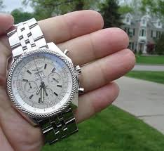 breitling bentley diamond breitling bentley motors 6 75 a44362 white dial topnotch watch