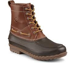 s boots waterproof sperry s decoy boot mens boots