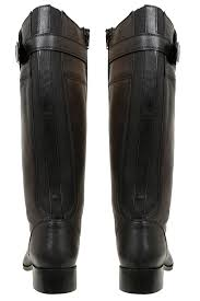 yours clothing plus size womens knee high leather riding boots