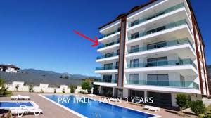 sea view apartment real estate for sale alanya turkey kestel