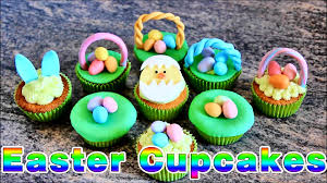 Easter Icing Decorations by Super Simple Easter Cupcake Ideas Happyfoods Youtube