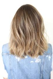 front and back views of chopped hair long bob haircuts back view google search beauty hair