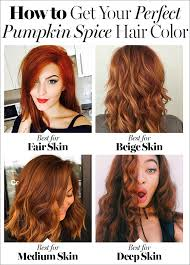 pumpkin spice hair 7 things to know about fall u0027s biggest hair