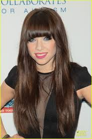 carly rae jepsen hairstyle back katy perry carly rae jepsen night of too many stars benefit