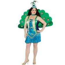 Peacock Halloween Costumes Peacock Fairy Size Costume Green Brown Accent