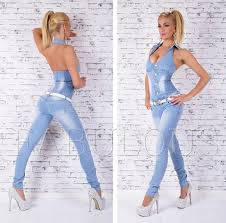 Jeans Jumpsuit For Womens Womens Jeans Overall Size 10 12 14 8 S M L Xl Denim Jumpsuit