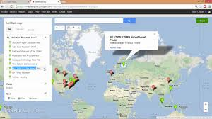 Google Maps Los Angeles Ca by Google Maps Engine Planning My Holidays By Ruby Cogan Long 9