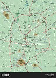 Metro Atlanta Map Metro Atlanta Area Map Metro Map