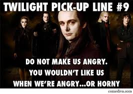 Funny Twilight Memes - twilight pick up lines comediva