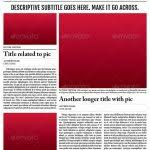 best print newspaper templates in adobe indesign u0026 photoshop in