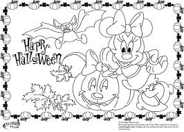 minnie mickey mouse coloring pages halloween minister