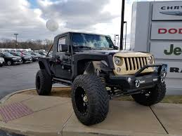 convertible jeep black lou fusz chrysler dodge jeep ram and fiat dealer serving the