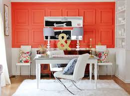 alluring 40 living room with orange wall accent decorating design