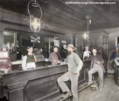 interior view of a saloon in leadville lake county colorado