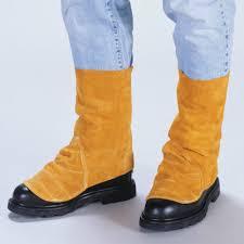 Split Cowhide Tillman Side Split Cowhide Spats Shoe Protector Seton