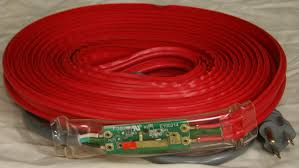 Wrap On Roof And Gutter Cable by 31018 18foot 36w 120v Pipe Heating Cable