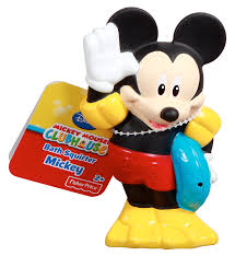 Mickey Mouse Bathroom Faucets amazon com fisher price disney mickey mouse clubhouse bath