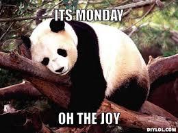 Joy Meme - oh the joy monday meme