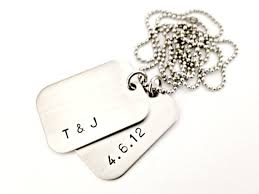 customized dog tag necklace personalized dog tag necklace sted mens custom jewelry