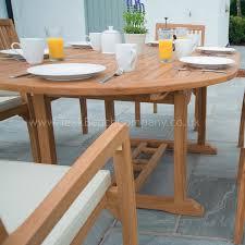 Garden Chairs Png Extendable Dining Set Six Seat Teak Garden Furniture