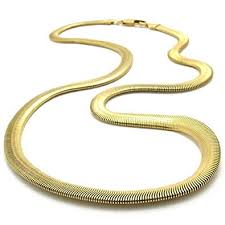 chain necklace snake images Konov stainless steel men 39 s necklace snake chain gold 6mm 22 jpg