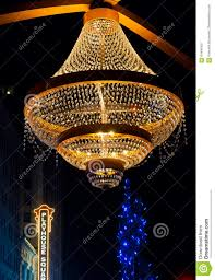 Cleveland Outdoor Chandelier Playhouse Chandelier Editorial Photo Image 64946421
