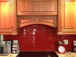 amazing design red subway tile backsplash subway tile kitchen with