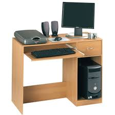Beech Computer Desk Fusion Computer Desk Beech Officesupermarket Co Uk