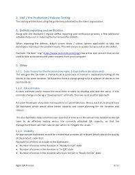 Qa Analyst Sample Resume by Agile Qa Process