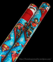 superman wrapping paper american greetings superman gift wrapping paper 2014 superman