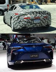 lexus lf lc specifications lexus lc gets a subtle aero upgrade with the kind help of trd