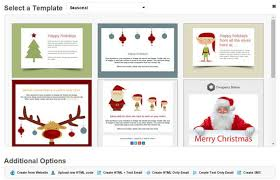 christmas email templates are live