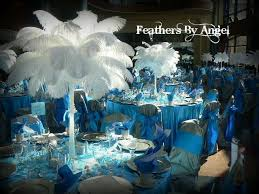 ostrich feather centerpieces renting ostrich feather centerpieces feathers by angel s