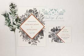 Black Wedding Invitations Wedding Invitations