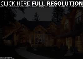 House Plans With Rear View Tranquility Luxurious Mountain House Plan Plans Small Ba Hahnow