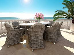 chaise en r sine tress e table resine tressee avec artelia fr table ronde et chaises r sine