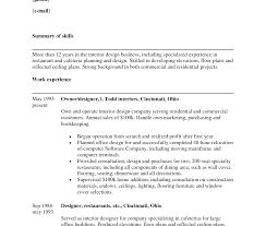 sle resume word doc format pdf objective interior designer sle resume impressive dental